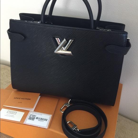 ab699f2e217d New Authentic Louis Vuitton Epi Twist Tote